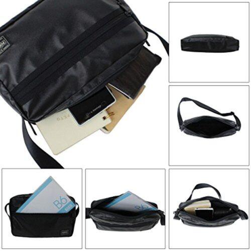 YOSHIDA PORTER TACTICAL SHOULDER BAG 654-07073 Black Tracking From Japan