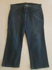 Lands-End-Women-s-Capri-Crop-Jeans-Size-14