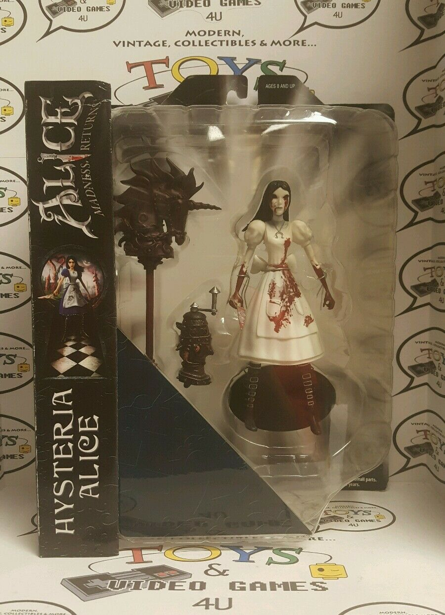 Diamond Select Alice Madness Returns Hysteria Alice figure