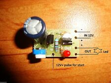 MINI TIMER SWITCH RELAY 1 TO 190 SEC Delay Off Led Lights 12V+ ACIVATING KIT