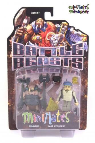 Battle Beasts Minimates Series 1 Gruntos /& Tate Reynolds