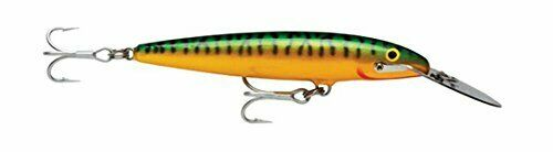 """Musky Rapala 4 3//8/"""" Countdown Magnum CDMAG11 GM in  GREEN MACKEREL for Stripers"""