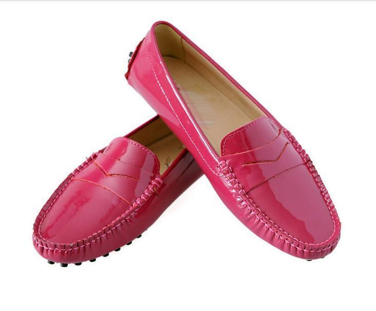 Fulinken patent Leather Comfort Slip On On Slip penny loafer flat ballerina Women Shoes 49b16e