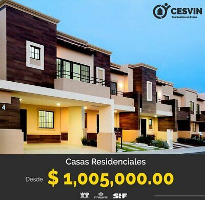 Casa 3 Recamaras Nueva en Venta en Tizayuca en Desarrollo Residencial con Seguridad