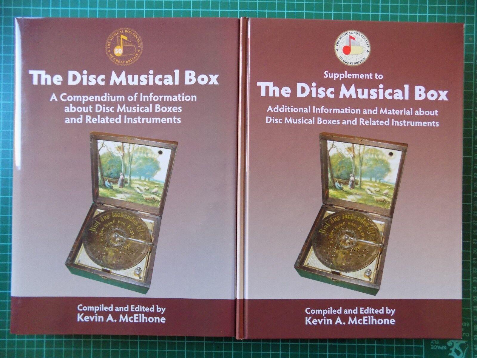 Disc Musical Box Book Supplement POST FREE Symphonion Polyphon Regina