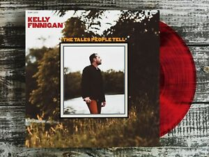 Kelly-Finnigan-The-Tales-People-Tell-RED-VINYL-LP-Record-amp-MP3-Monophonics-solo