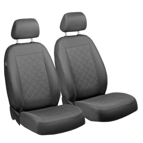 Graue Sitzbezüge für SEAT ALTEA Autositzbezug VORNE