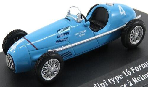 EDICOLA 2235010 SCALA 1//43 RENAULT F1 TYPE T16 GORDINI N 4 REIMS FRANCE GP 1952