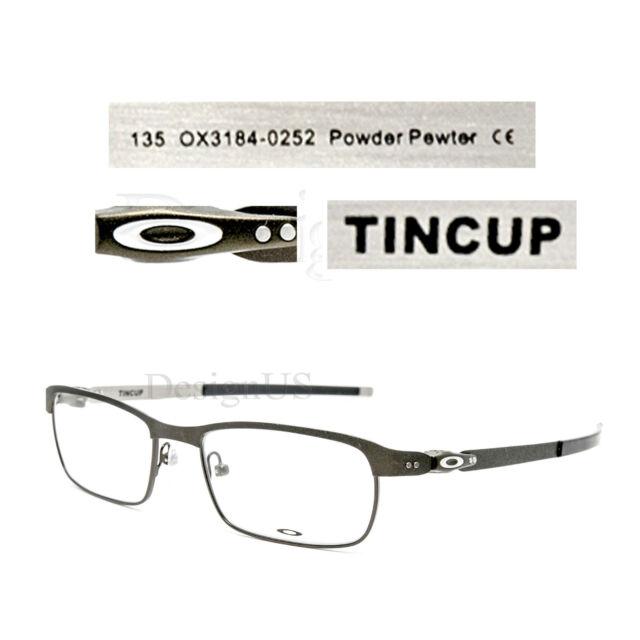 b1f32fa92c ... carbon powder coal ox5094 01 52 b4c51 99a72 new zealand oakley tincup  ox3184 0252 powder pewter 52 17 135 eyeglasses rx optical 6e92c 43c5c ...