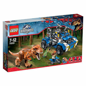 Lego® 75918 Jurassic World sur les traces du T-rex Tracker New / OVP