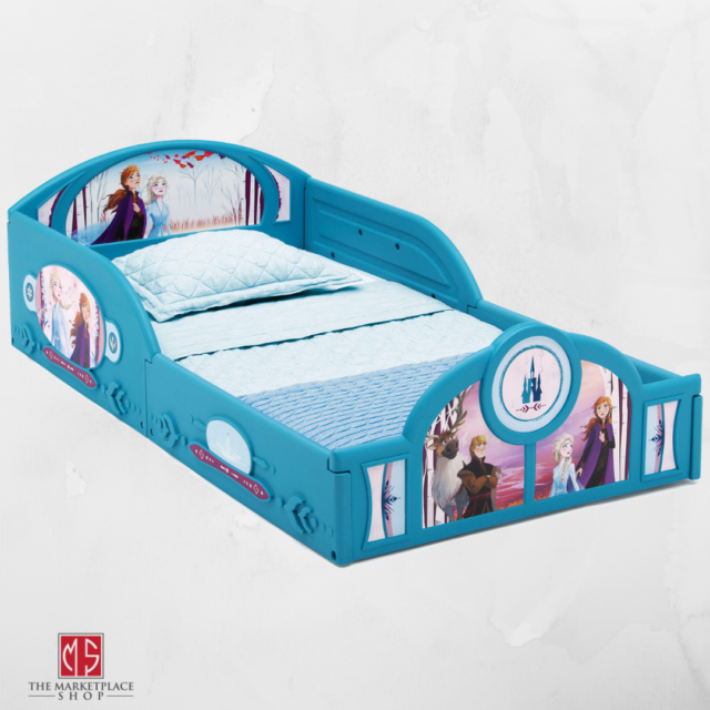 Disney Frozen Bed Plastic Metal Toddler, Frozen Bedroom Furniture