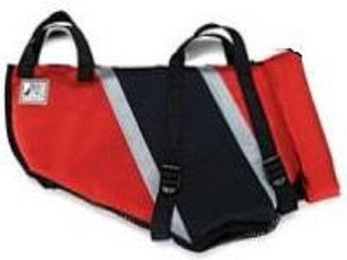 Premier Extreme Fido Float Red   Black Nylon Dog Life Jacket Size Medium
