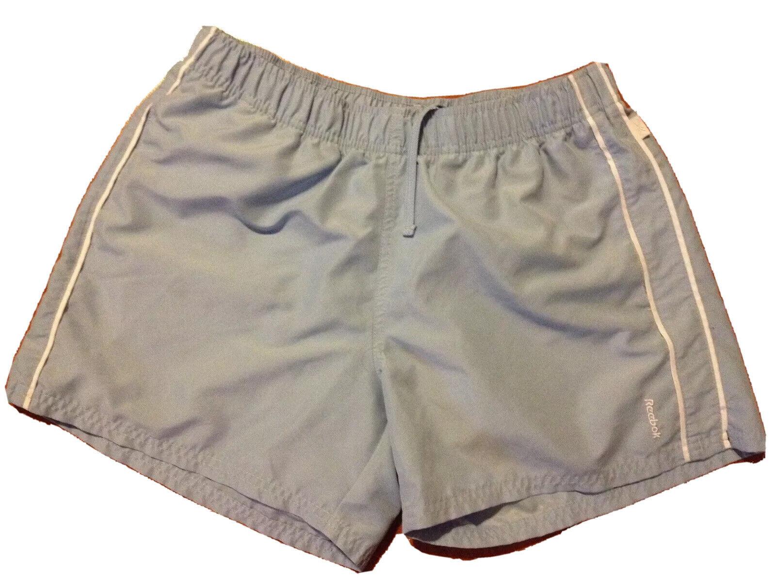 Shorts by Reebok Sz Large Fitness Yoga Microfiber Elastic Waist Wicking Dry