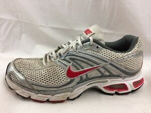 performance sportswear great fit closer at Nike Air Max Moto 6 Womens 7.5 M White Red Silver Bowerman Walking ...