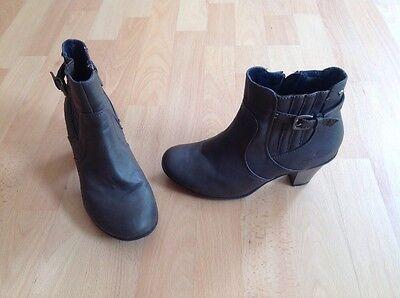 Tom Tailor Schuhe, Stiefeletten, Boots, Stiefel Gr. 38 khaki TOP !!!