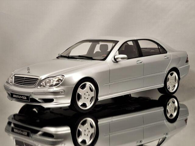 Otto Mobile Ottomobile Mercedes-Benz CLK63 Coupe AMG Black Series Silver 1:18