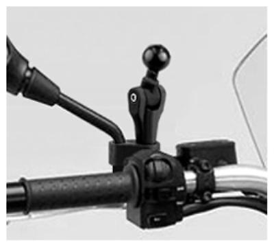 Supporto con attacco Twist and Tilt ram-mount RAM-B-360U ruotabile avvitabile