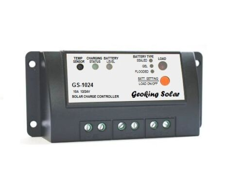 Geoking 12V//24V 10A Solar Charge Controller Model GS-1024