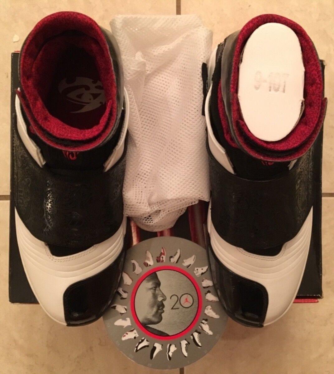 Men's Air Jordan XX (20) QS (Quickstrike) White/Black OG Not Retro Bulls