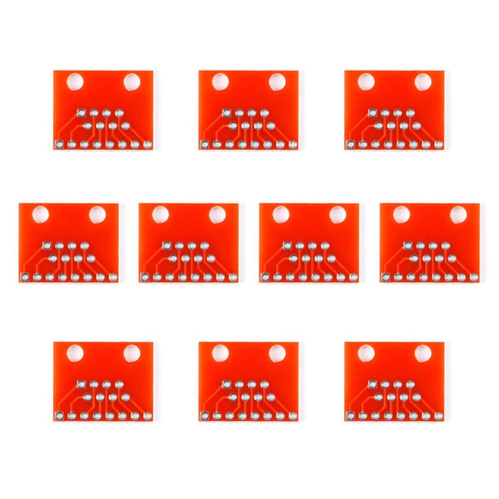 20Pcs Modular Connectors / Ethernet Connectors RJ45 Breakout Board Adapter Board