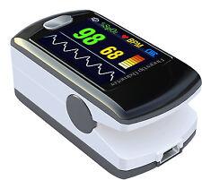 Pulse Oximeter Fingertip CMS50E Black Blood Oxygen SpO2 Monitor FDA, US Seller