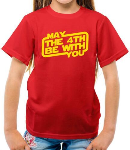 Peut le 4th être Avec Vous-Enfants T-Shirt-Force-Skywalker Love-Fan-Film