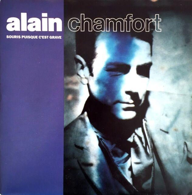 """Alain Chamfort 7"""" Souris Puisque C'est Grave - France (EX+/EX+)"""