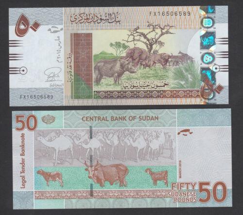 P75c banknote UNC 2015 South Sudan 50 Pounds