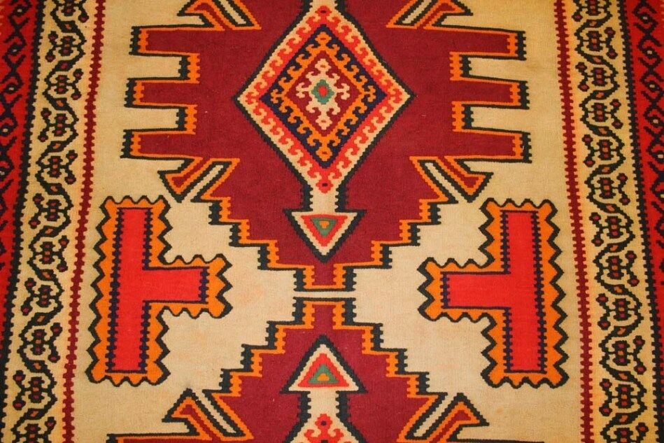 Handgewebter nomades Kilim 160x300 cm Tapis Oriental Tapis Nomade nomades Handgewebter Kilim NEUF e393dd