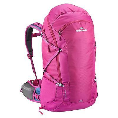 Kathmandu airLT Voltai womensFIT Travel Hiking Backpack Rucksack 40L v2 Pink