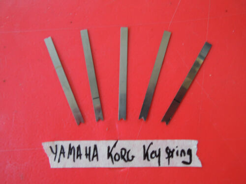 5 x Ressort touche YAMAHA DX7 DX-7 2 FD DX7S KORG M1 T3 spring for genuine Keys