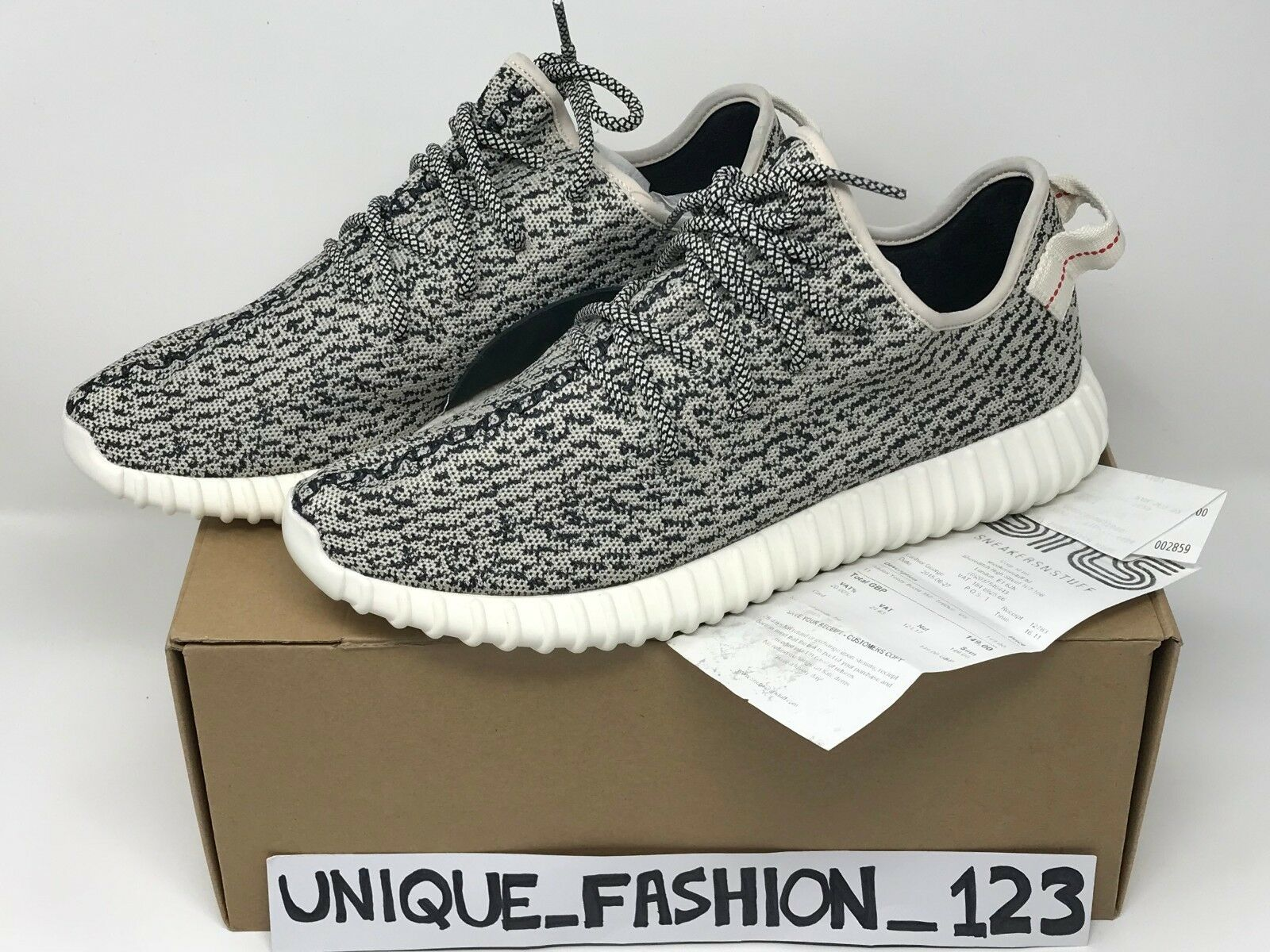 best website 8cf45 c85ed ADIDAS YEEZY BOOST 350 LOW US 1110.5 45.5 TURTLE DOVE V1 2018 OG AQ4832 V2