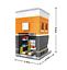 Indexbild 14 - Bausteine LOZ Modell Bausätze DIY Kinder Spielzeug Geschenk Dekoration OVP Neu