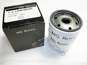 NEU-Original-OE-MG-ROVER-25-45-MG-ZR-Benzin-1-4-1-6-Olfilter-LPW100181