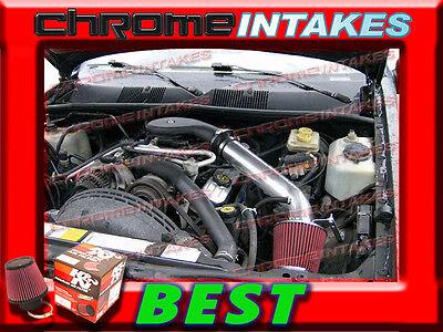 RED 1993-1998//93-98 JEEP GRAND CHEROKEE//LAREDO 5.2L 5.9L V8 AIR INTAKE KIT 2