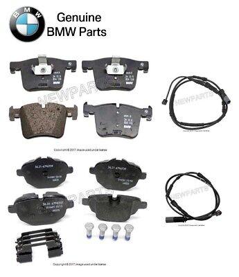For BMW F25 F26 X3 X4 11-16 Front /& Rear Brake Pad Set w// Sensors Ferodo//Jurid