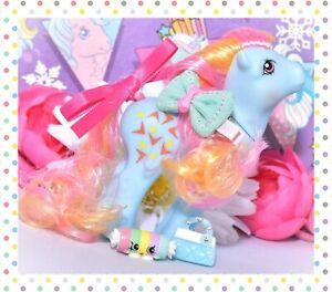 My-Little-Pony-MLP-Vtg-G1-Style-HQG1C-Pretty-Mane-Artistry-Girls-Rhyme