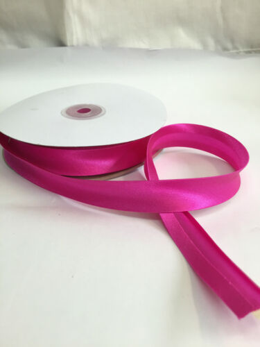 """20mm 26 colours available- Excellent quality Wide Satin Bias Binding 3//4/"""""""