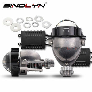 Bi-LED-Projector-Lens-H1-9005-9006-H4-H7-LED-Lamps-Lenses-For-Auto-Car-Headlight