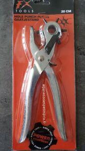 Pince Perforatrice 20 Cm, Perforatrice 6 Embouts De 2 Mm à 4.5 Mm, Emporte Pièce