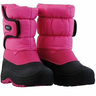 Clothing, Shoes & Accessories Aggressive Khombu Girl's Snow Trekker Waterproof Boots Pink Size 1