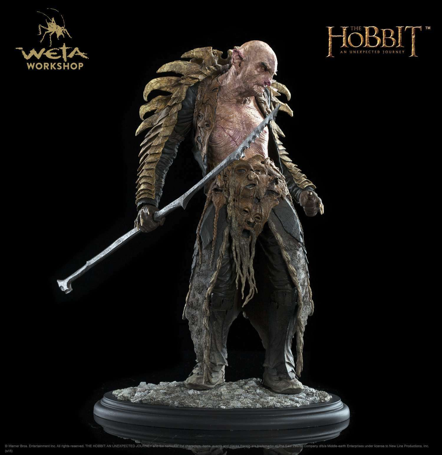marca The HOBBIT HOBBIT HOBBIT  AN UNEXPECTED JOURNEY - YAZNEG 1 6 STATUE 12  WETA  marca famosa