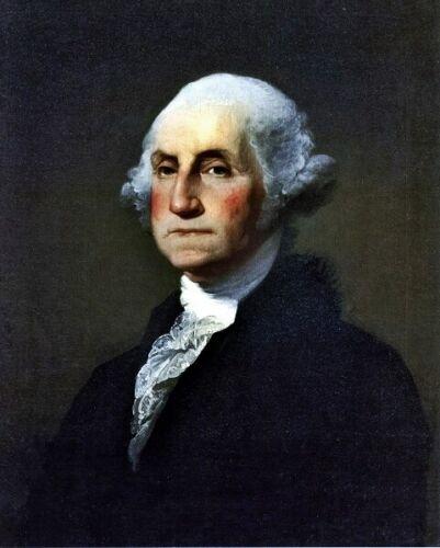 6 Sizes! New Photo Gilbert Stuart Portrait of President George Washington