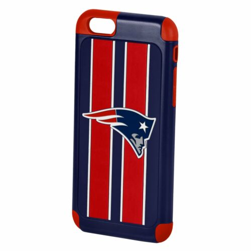 iPhone 6s 6 Official Licensed NFL Football 3D Team Logo Dual Layer Hybrid Case