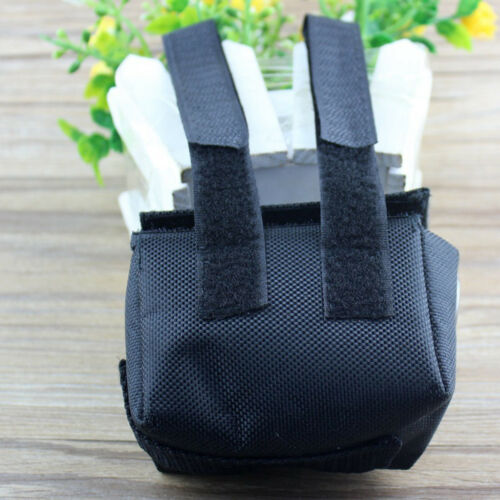 1x Case Holder Storage Bag Pouch for Bike Head Light 4 x 18650 Battery Pack