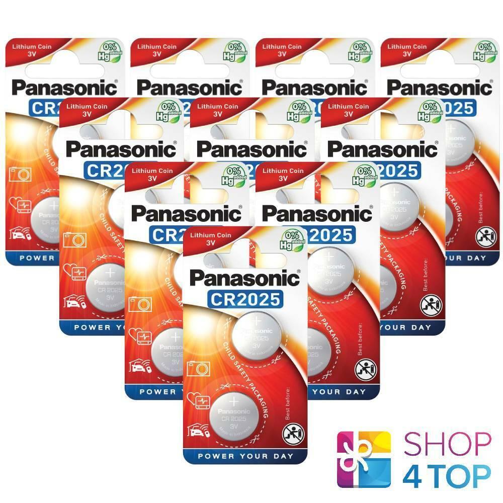 20 panasonic lithium power cr2025 3v dl2025 batteries Exp 2028 new indonesia