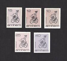 CINDERELLA CYCLNG Netherland Arnhem local stamps 5v