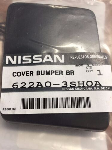 NEW OEM NISSAN SENTRA 2013-2015 FRONT BUMPER UNPAINTED TOW HOOK COVER
