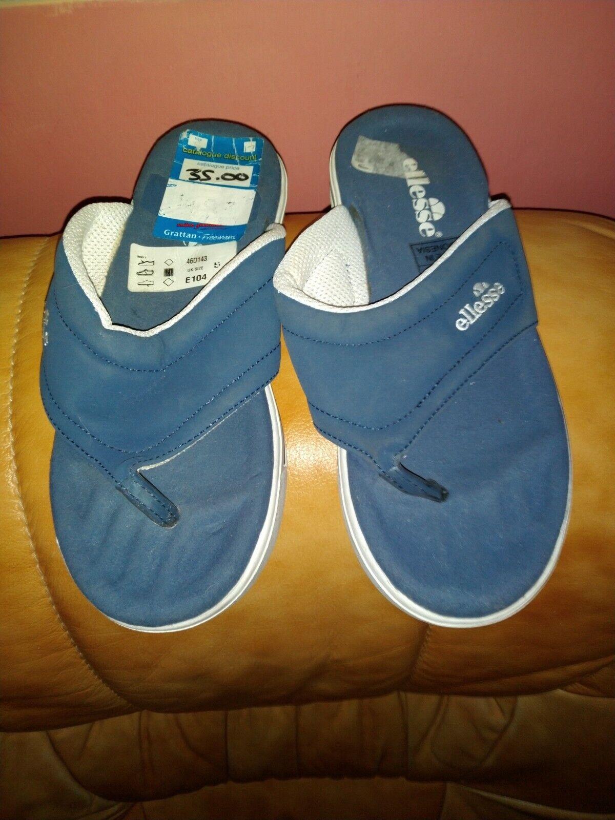 Vintage Ellesse Sandals Flip Flops - Size 5
