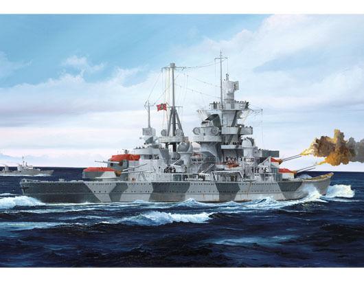 German Cruiser Admiral Hipper 1941 Plastic Kit 1 700 Model TRUMPETER